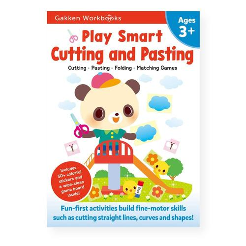 Play Smart Cutting and Pasting Age 3+ by Gakken Early Childhood Experts