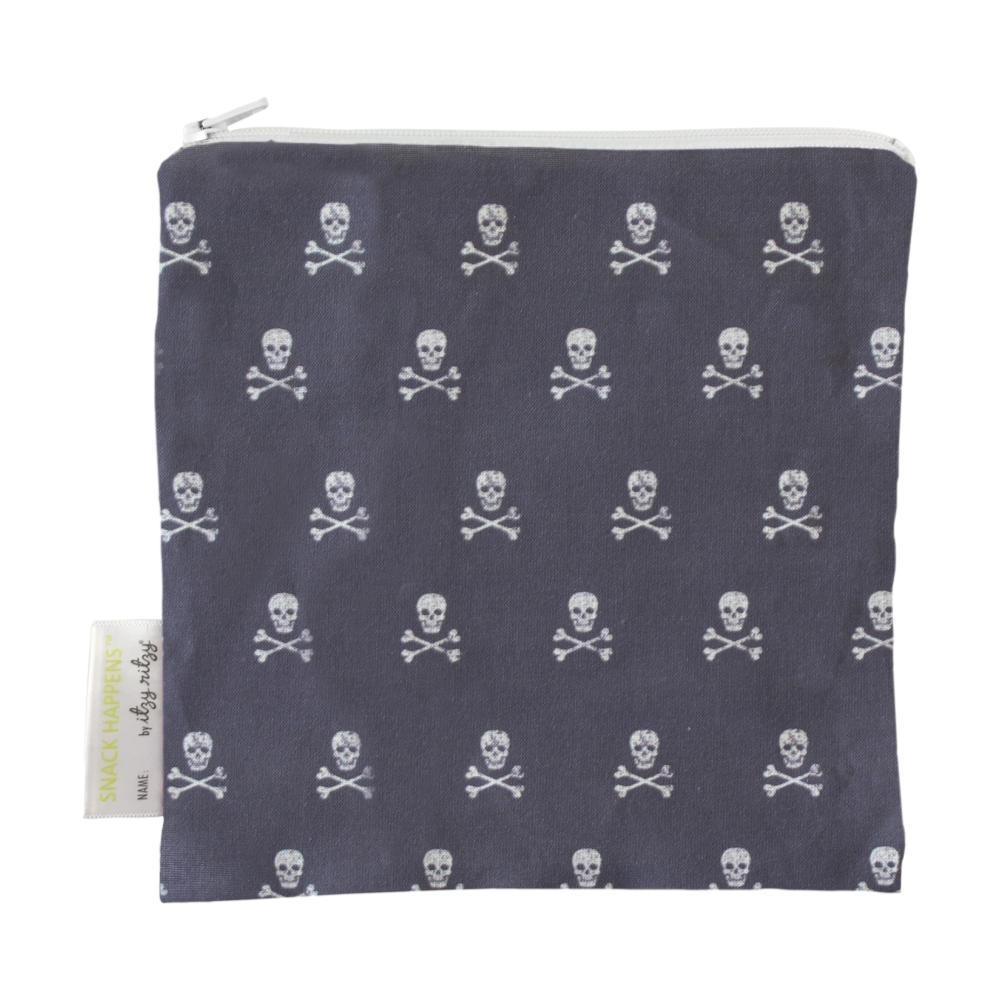 Itzy Ritzy Snack Happens Reusable Snack And Everything Bag SKULLS