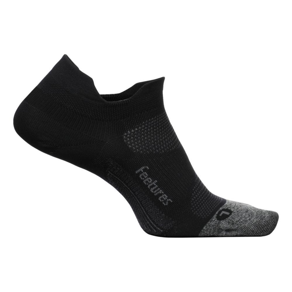Feetures Unisex Elite Light Cushion No Show Tab Socks BLACK