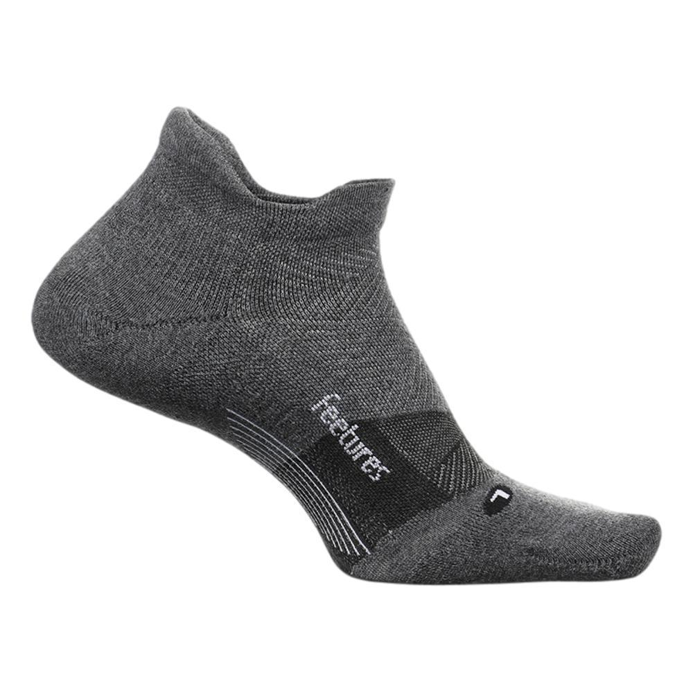 Feetures Merino 10 Ultra Light No Show Tab Socks GRAY