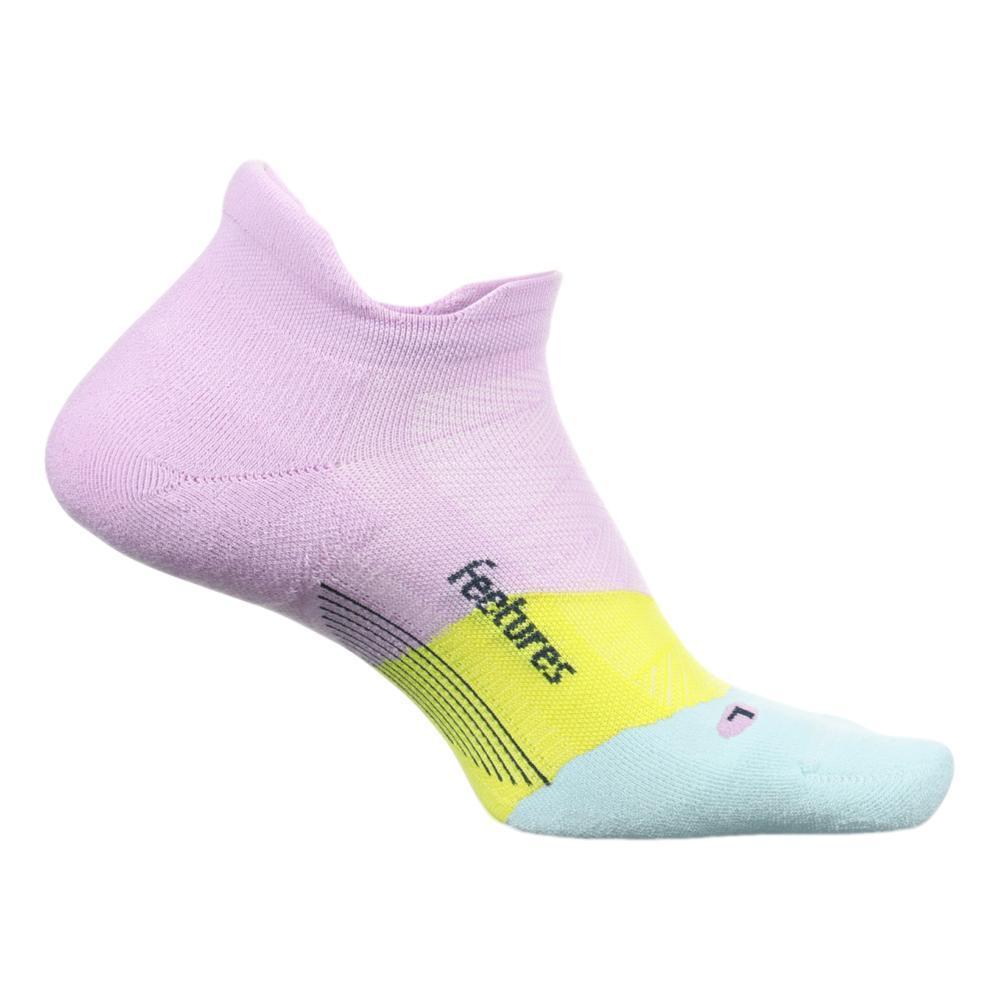 Feetures Unisex Elite Ultra Light Cushion No-Show Socks PURPLEORCHID