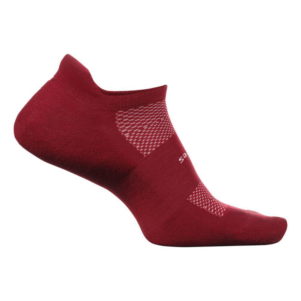 Feetures Unisex High Performance Ultra Light No Show Tab Socks VINO
