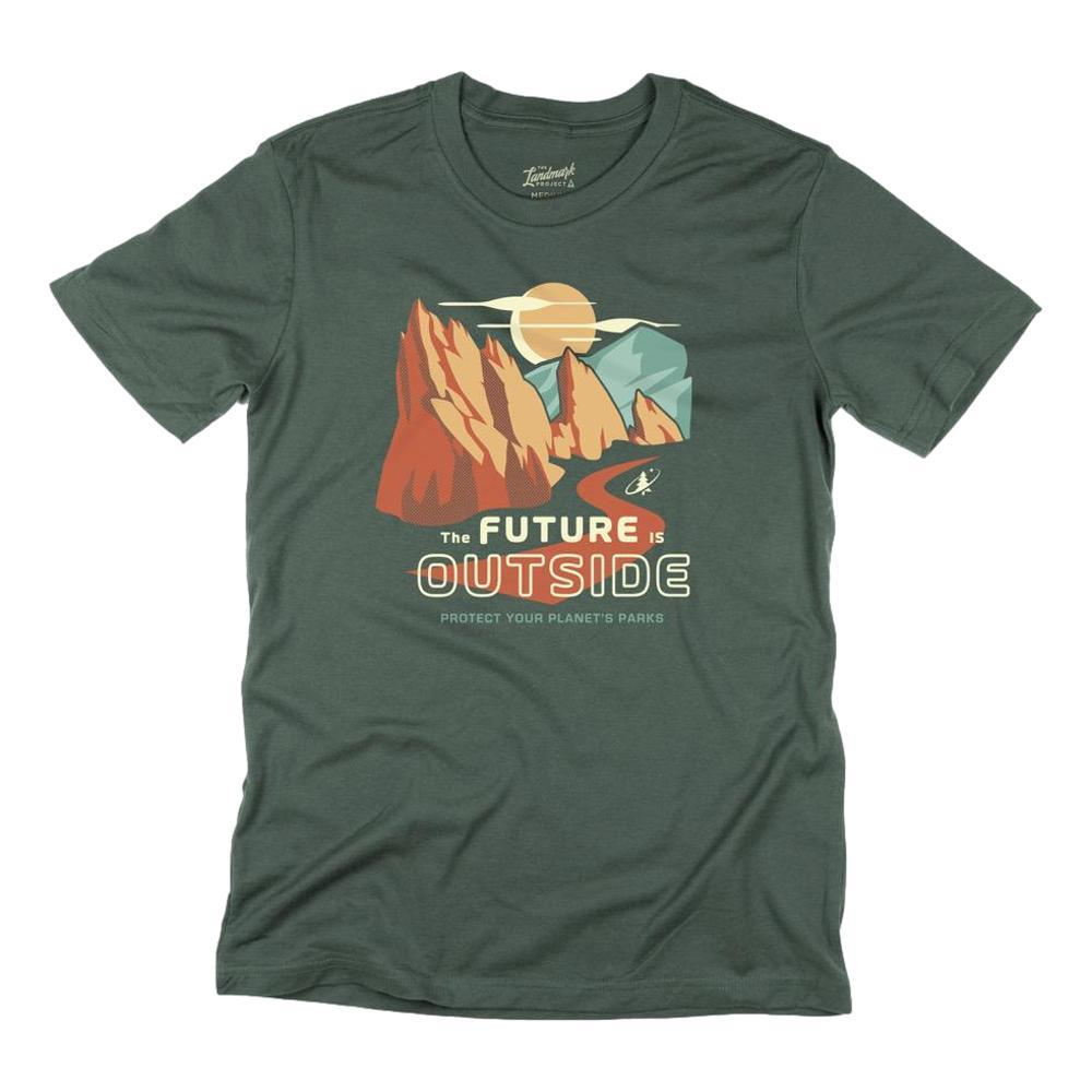 The Landmark Project Unisex The Future Is Outside Tee CONIFR_123