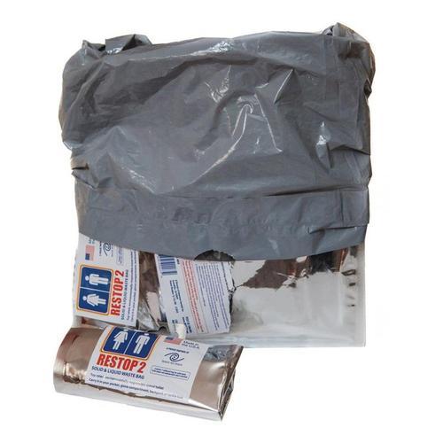Liberty Mountain Restop 2 Disposable Waste Bag Silver