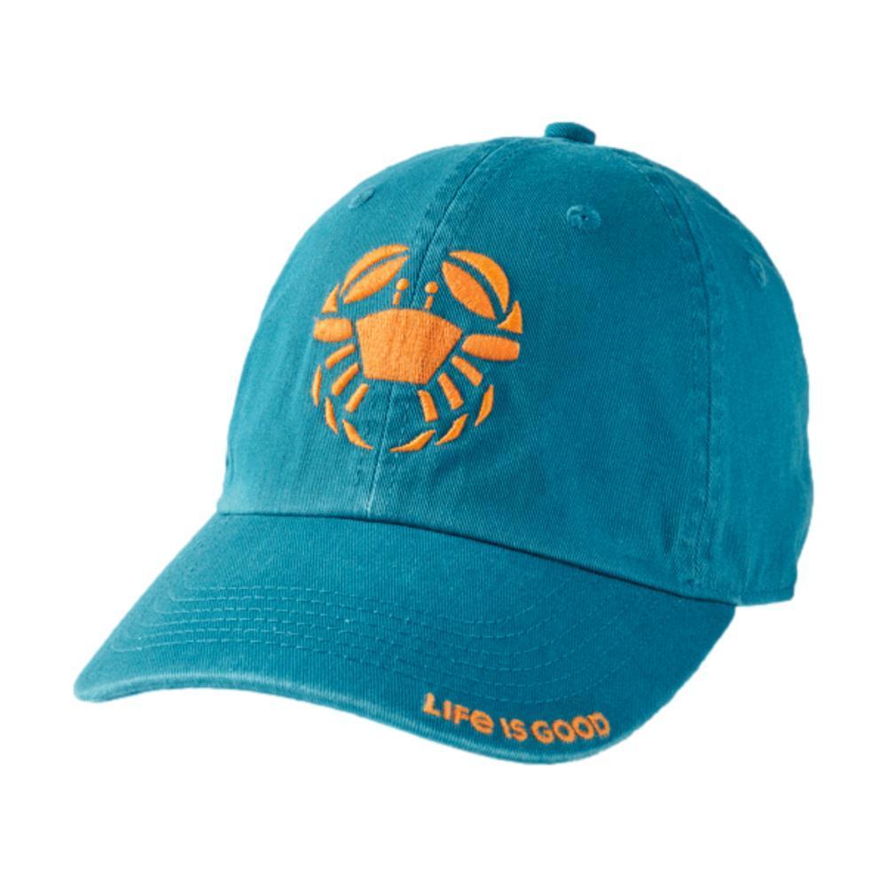 Life is Good Crab Chill Cap PERSIANBLU