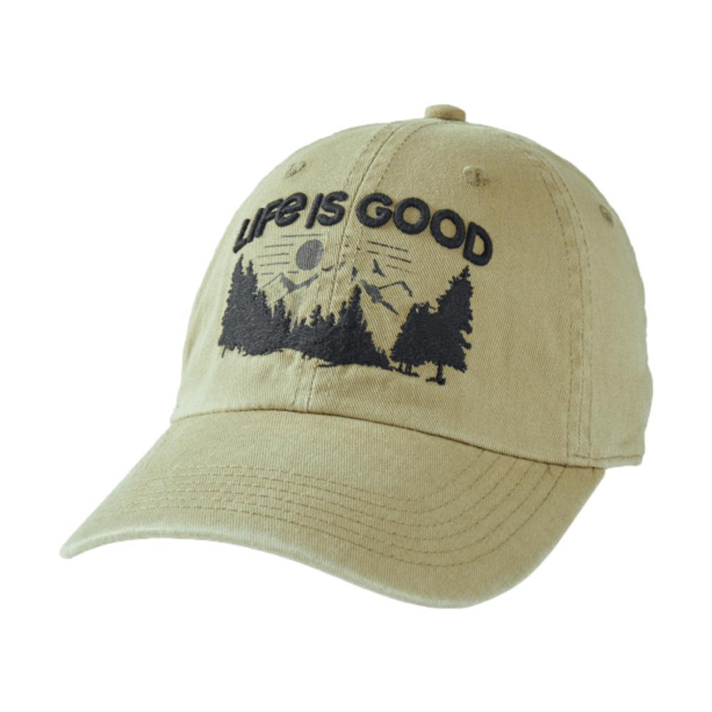 Life is Good Don't Forget to Play Chill Cap FATIGGREEN