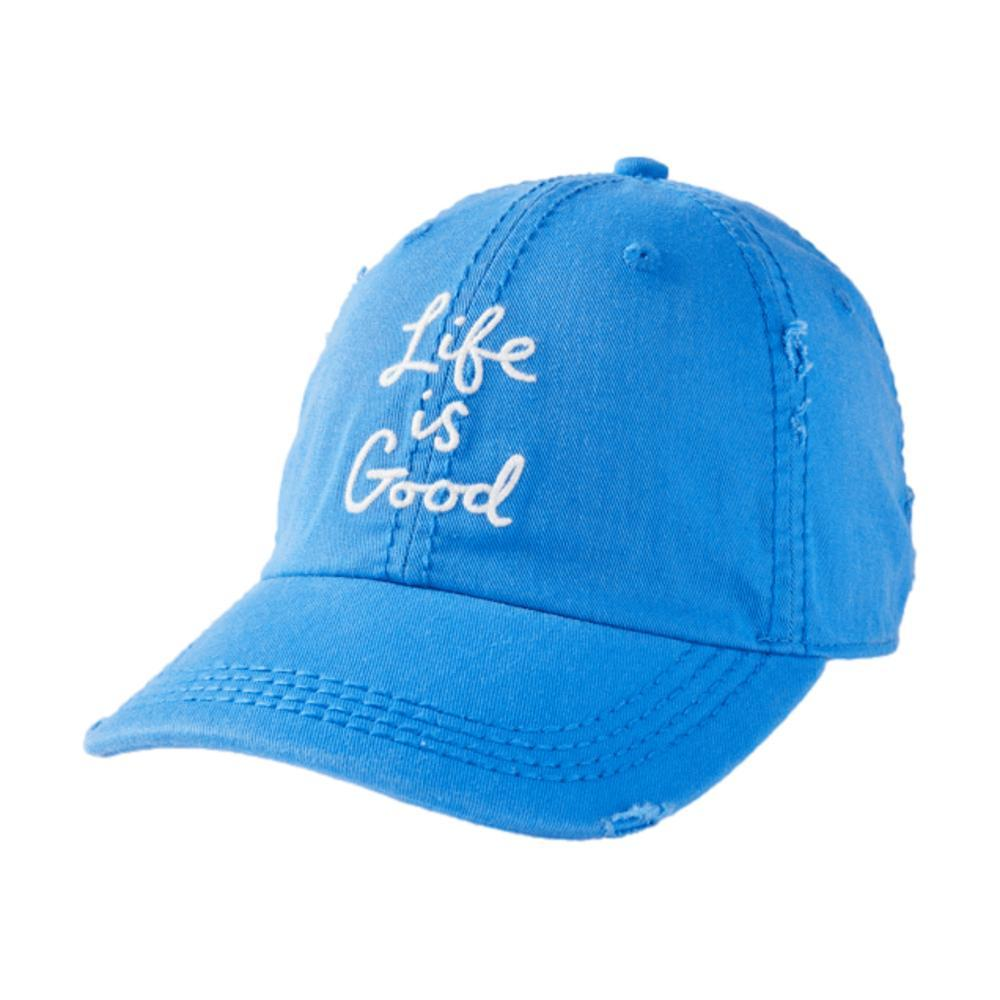 Life is Good LIG Scribble Sunwashed Chill Cap ROYALBLUE