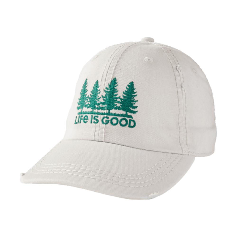Life is Good Trees Sunwashed Chill Cap BONE