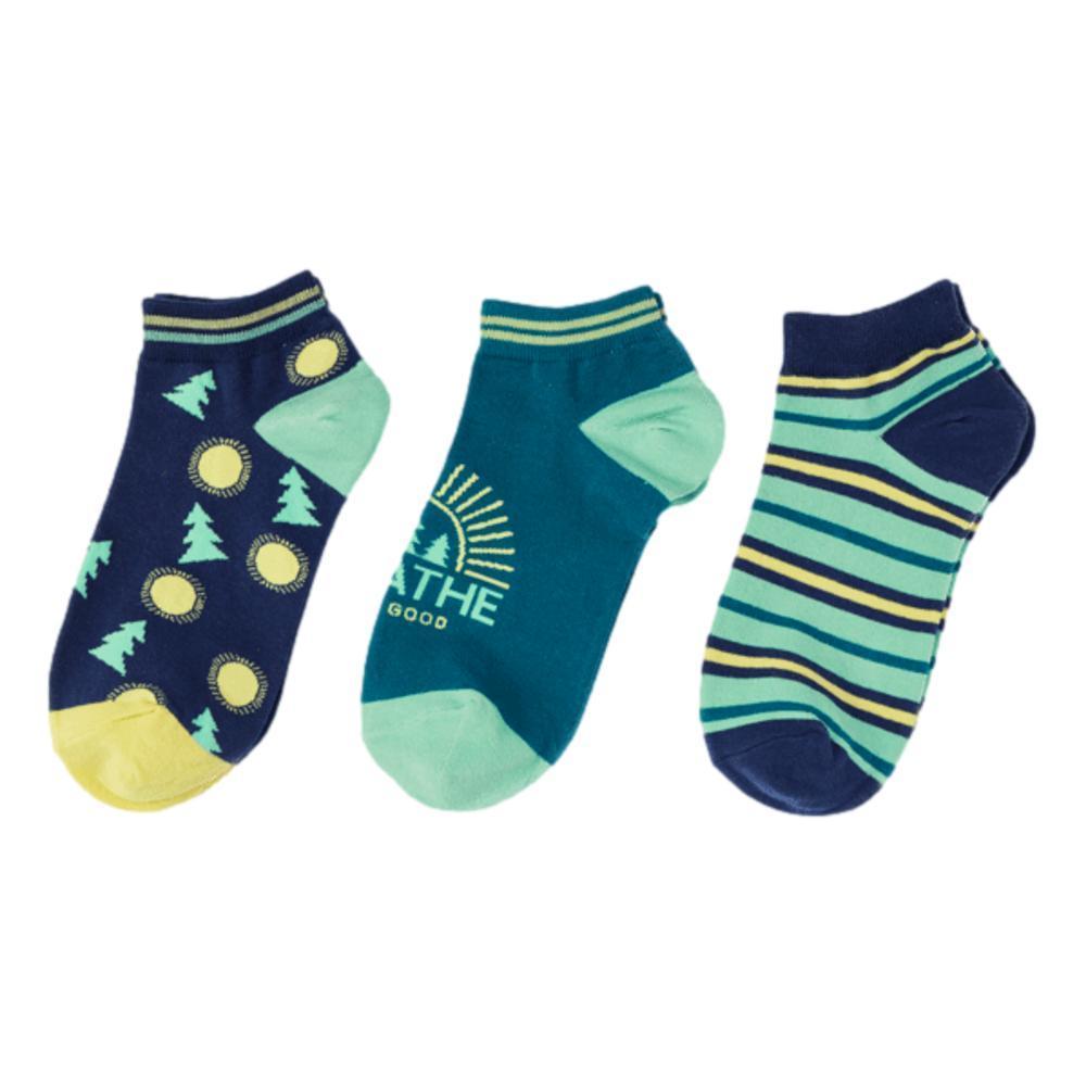 Life is Good Women's Breathe Low-Cut Socks - 3pk BREATHE