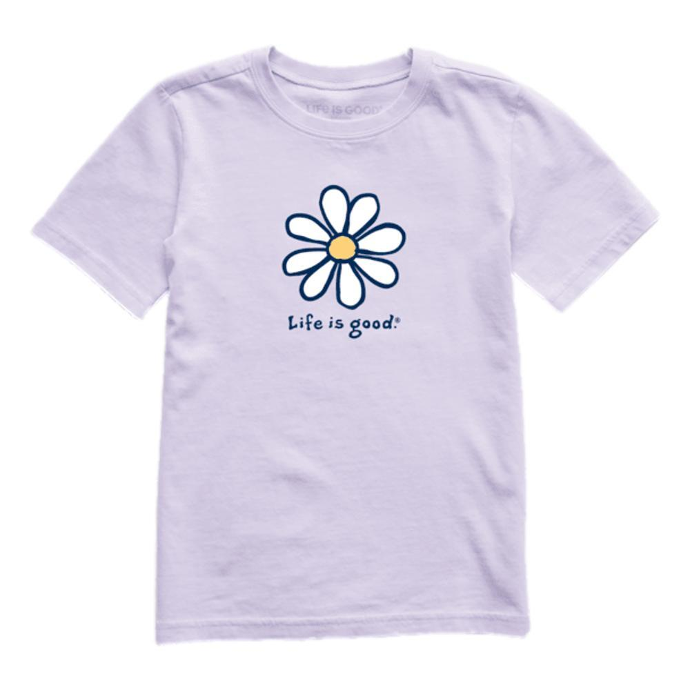 Life is Good Kids LIG Daisy Vintage Crusher Tee LILAC