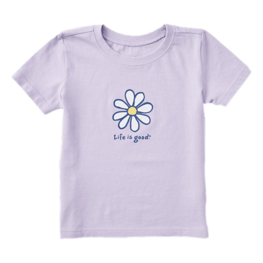 Life is Good Toddler LIG Daisy Vintage Crusher Tee LILAC
