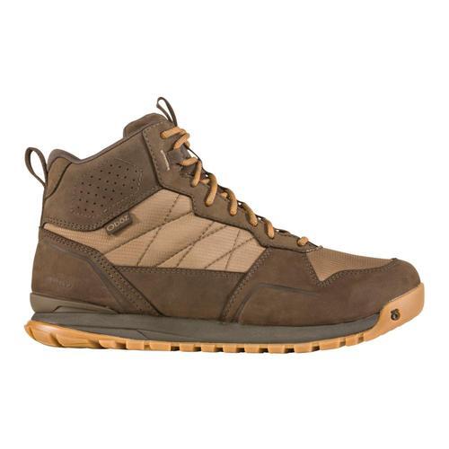 Oboz Men's Bozeman Mid Waterproof Boots Woodgrn