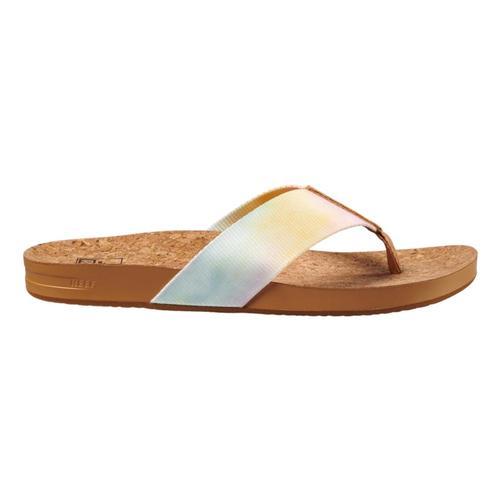 Reef Brazil Women's Cushion Strand Sandal Watrcolr