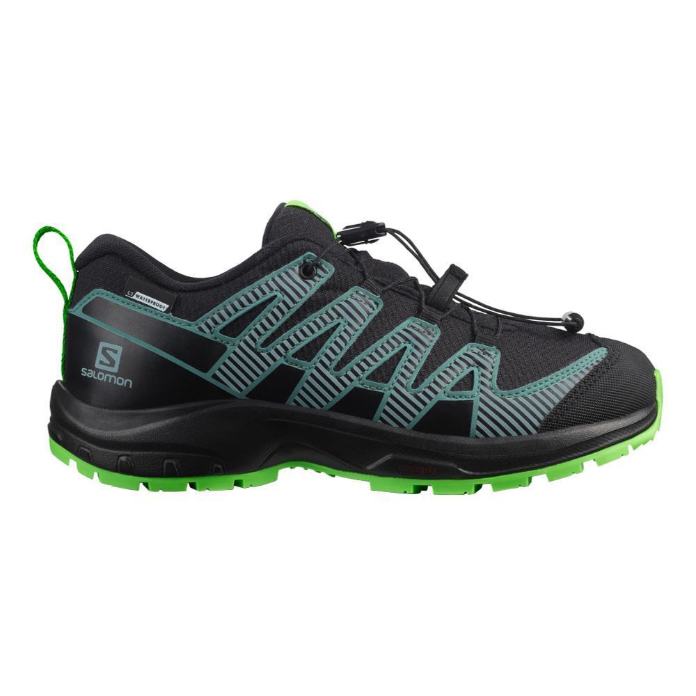 Salomon USA Kids' XA Pro V8 Shoes BLACKGRN