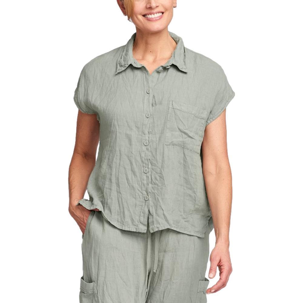 FLAX Women's Bijou Shirt SAGE