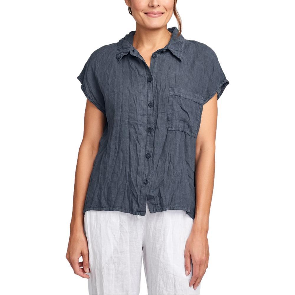 FLAX Women's Bijou Shirt SLATE