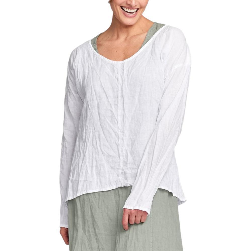 FLAX Women's Whisperer Shirt WHITE
