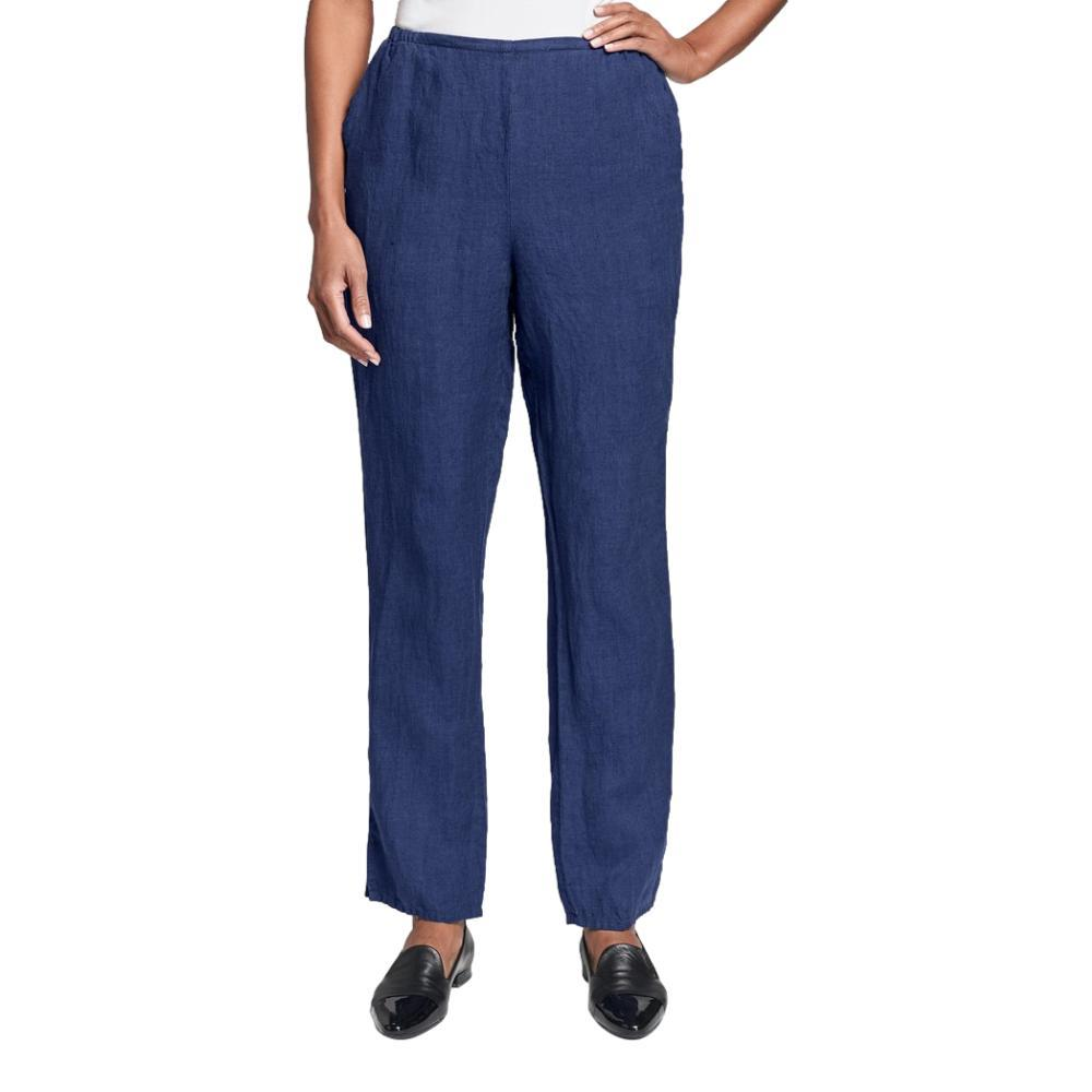FLAX Women's Pocketed Social Pants SAPPHIRE