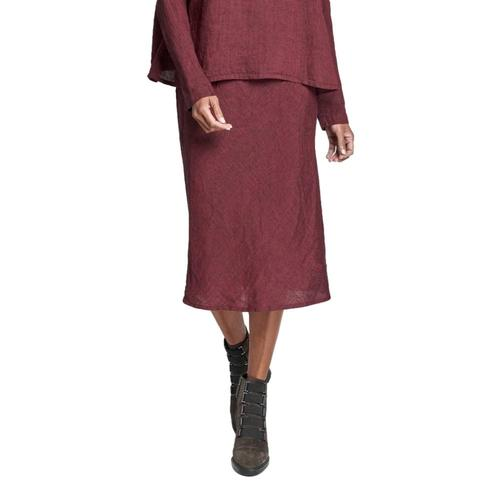 FLAX Women's Short Line Skirt  Garnetyarn
