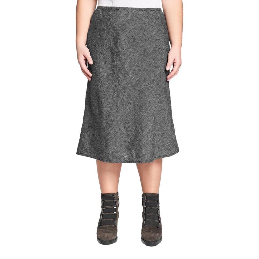 FLAX Women's Short Line Skirt  ONYXYARN