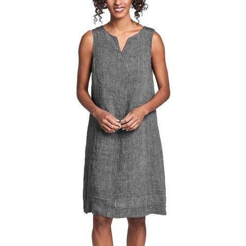 FLAX Women's Saturday Shift Dress Onyxyarn