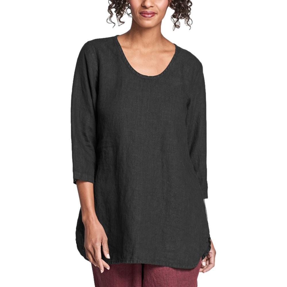 FLAX Women's Soft Tunic BLACKHANDK
