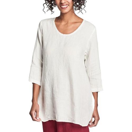FLAX Women's Soft Tunic Milkhandke