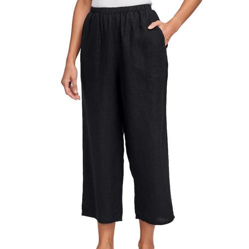 FLAX Women's Floods Pants Black