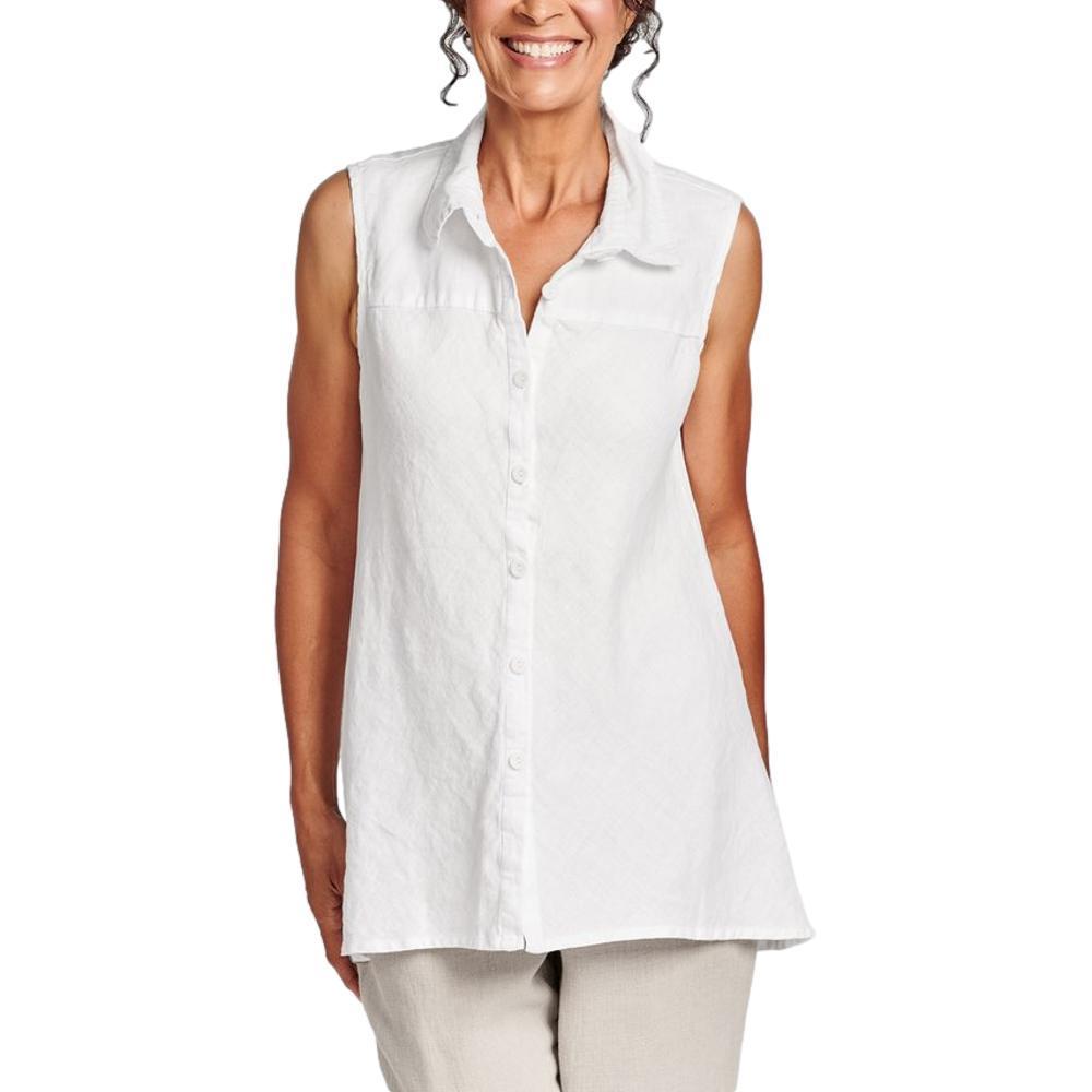 FLAX Women's Skyline Blouse WHITE