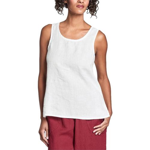 FLAX Women's Fundamental Tank White