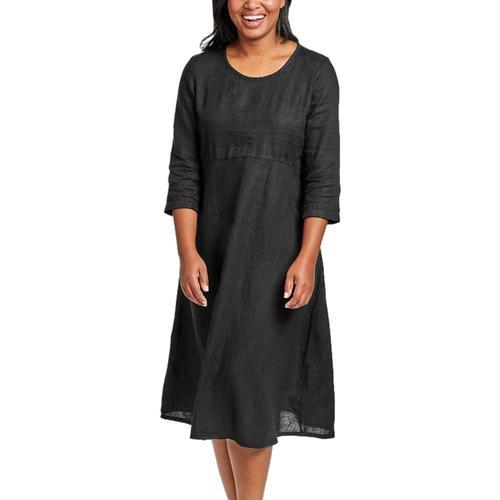FLAX Women's Dashing Dress Black