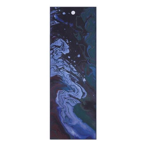 Manduka Yogitoes Yoga Mat Towel OCEAN_SWELL_MDNT