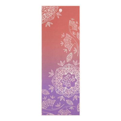Manduka Yogitoes Yoga Mat Towel LILY_PAD_CORAL