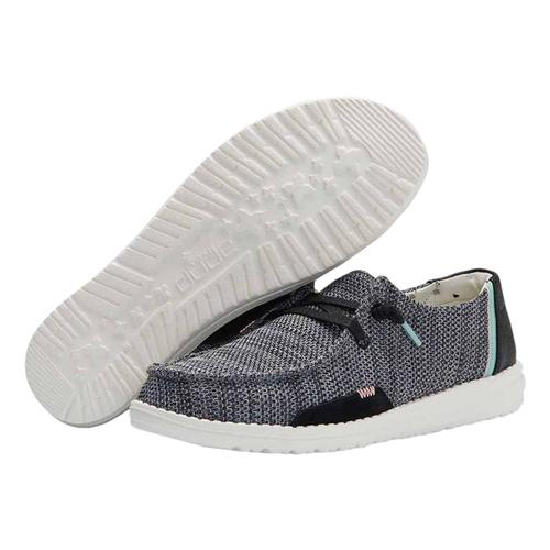 Hey Dude Women's Wendy Sox Shoes Sparklblk