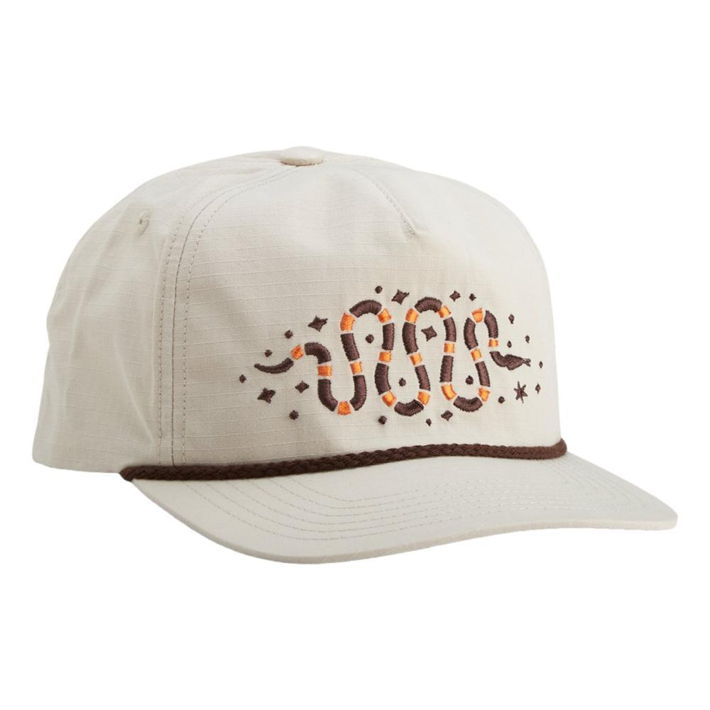 Howler Brothers Crawling Coral Snake Snapback Hat OFFWHITE