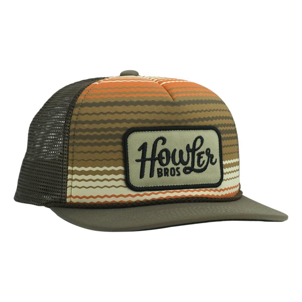 Howler Brothers Howler Classic Snapback Hat SERAPESTRP