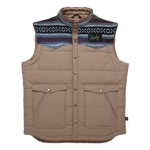 Howler Brothers Men's Rounder Vest Adobe_tan