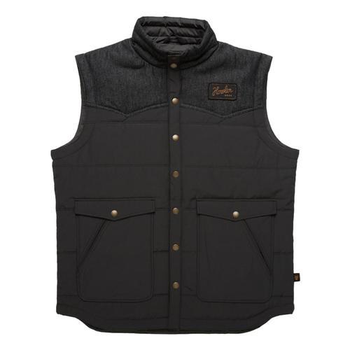 Howler Brothers Men's Rounder Vest Black_ant