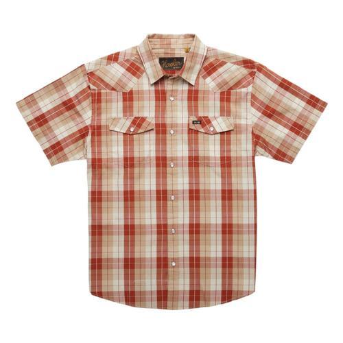 Howler Brothers Men's H Bar B Snapshirt Red_off