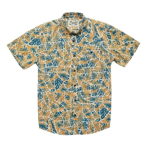 Howler Brothers Men's Mansfield Shirt Blue_lea