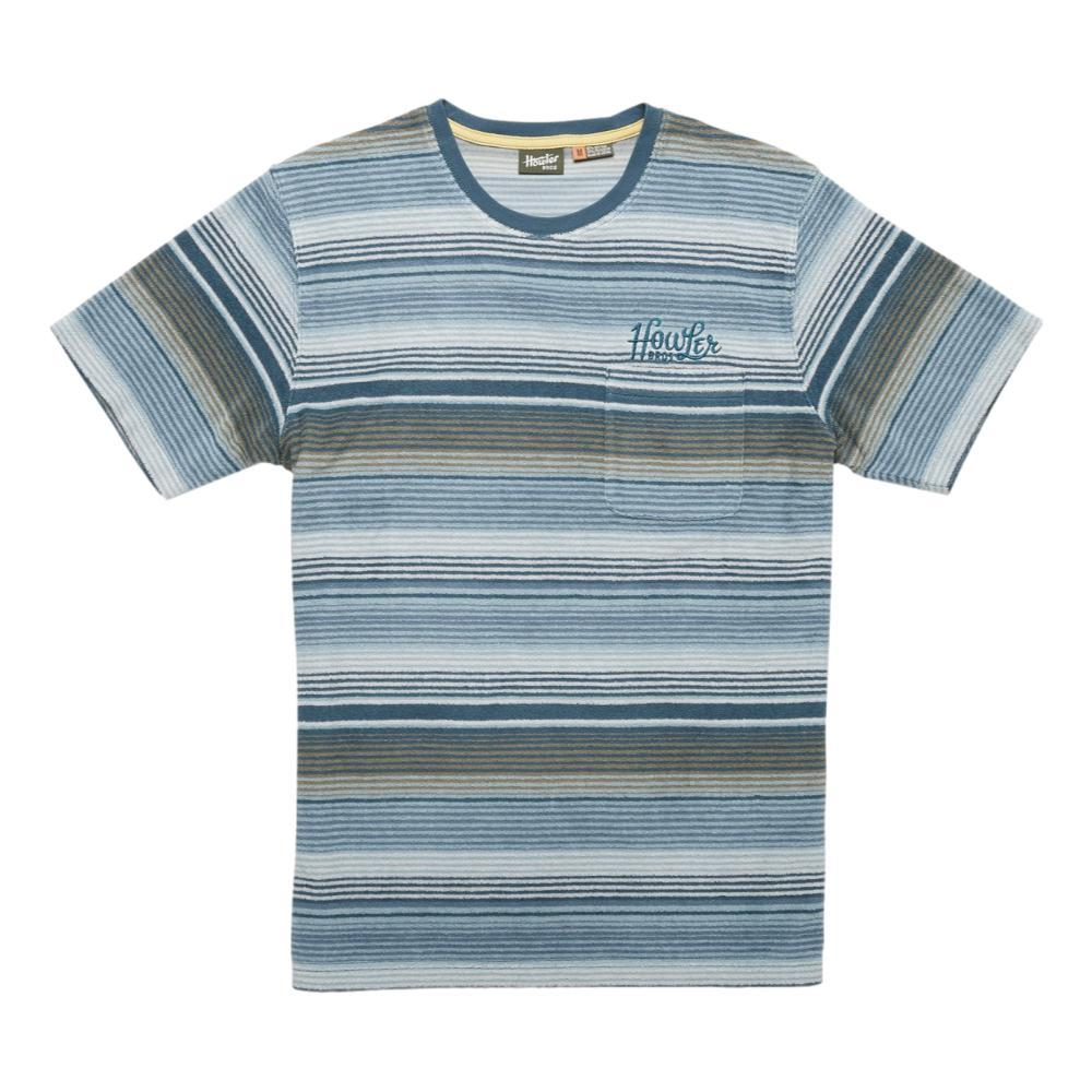 Howler Brothers Men's Terry Cloth T Shirt BLUE_MID