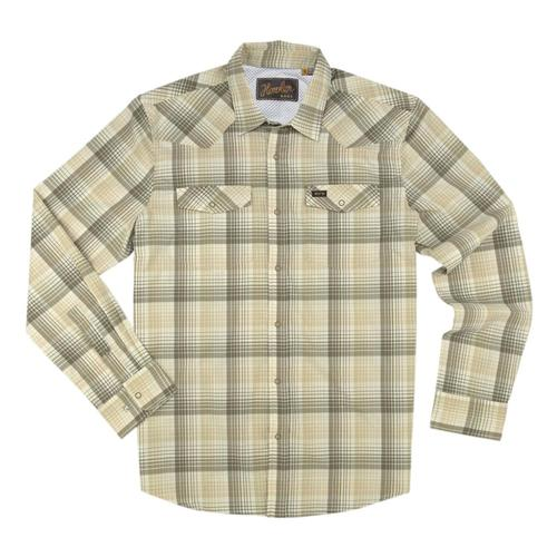 Howler Brothers Men's H Bar B Tech Longsleeve Shirt Cafe_crm