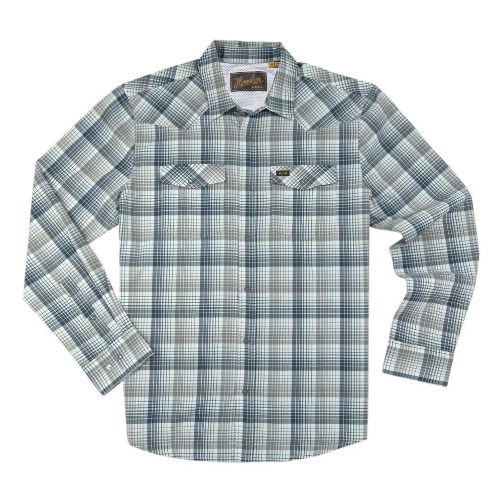 Howler Brothers Men's H Bar B Tech Longsleeve Shirt LUNAR_GRY