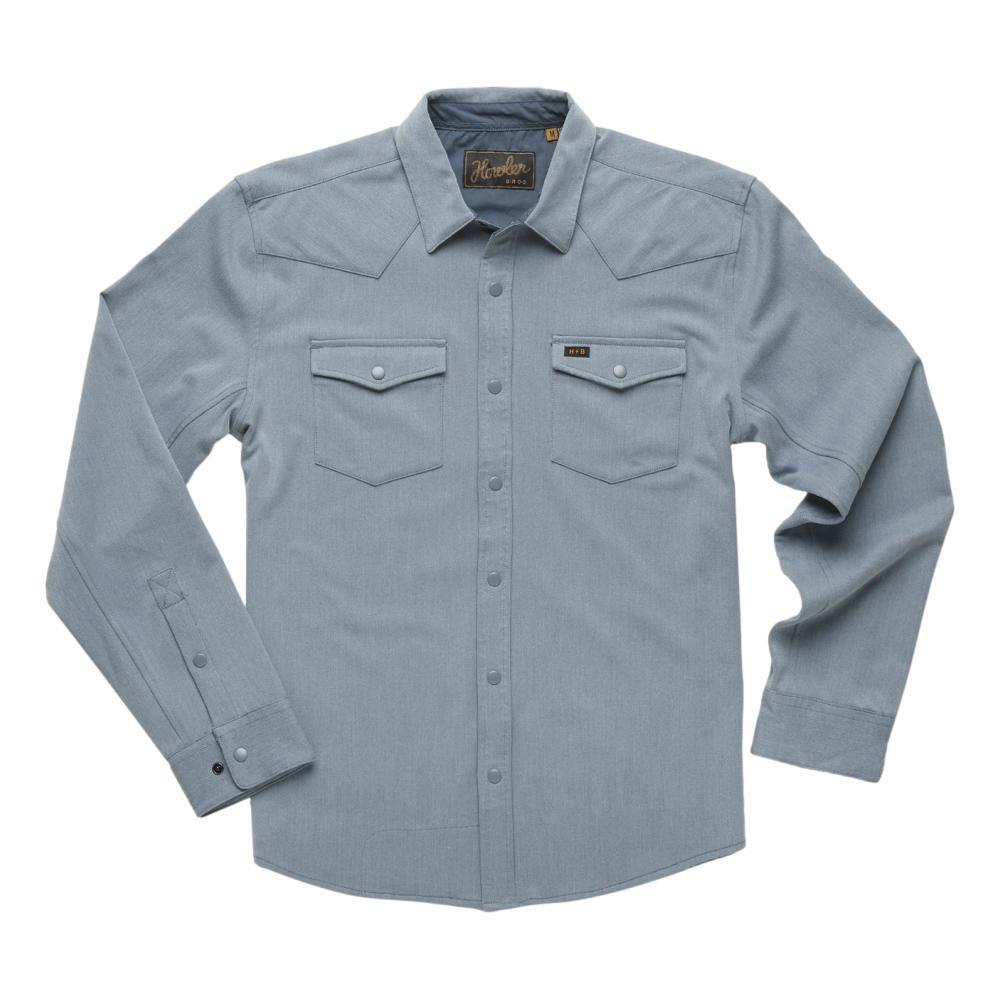 Howler Brothers Men's Stockman Stretch Snapshirt BLUE_BLU