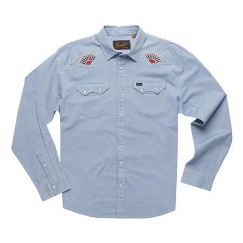Howler Brothers Men's Crosscut Deluxe Shirt Sunbeams_chm