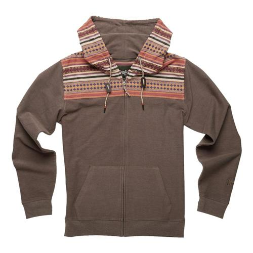 Howler Brothers Men's Shaman Hoodie Cocoa_mor