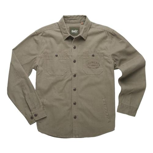 Howler Brothers Men's Trevail Work Shirt Green_dus