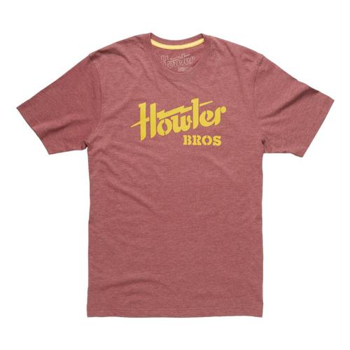 Howler Brothers Howler Electric T-shirt Burgundy