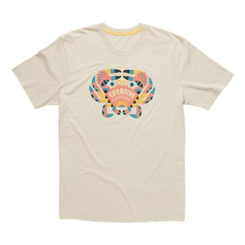 Howler Brothers Creative Creatures Crab T-shirt Sand