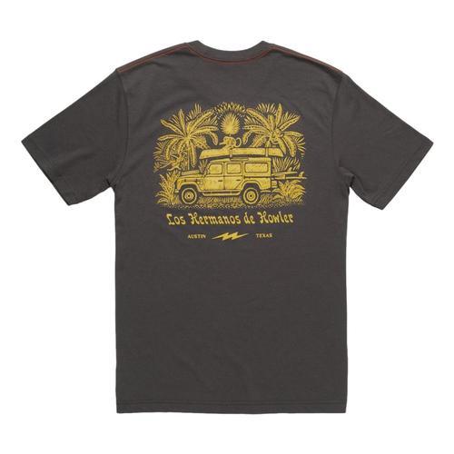 Howler Brothers Jungle Pilgrimage T-shirt Antiqblack